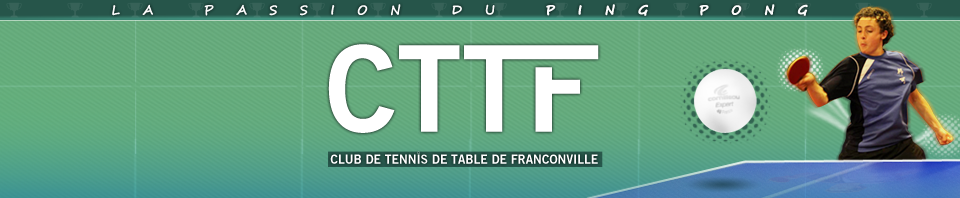 club de tennis de table de franconville. Black Bedroom Furniture Sets. Home Design Ideas